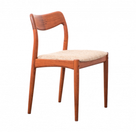Set of two dining chairs by Johannes Andersen for Uldum Møbelfabrik