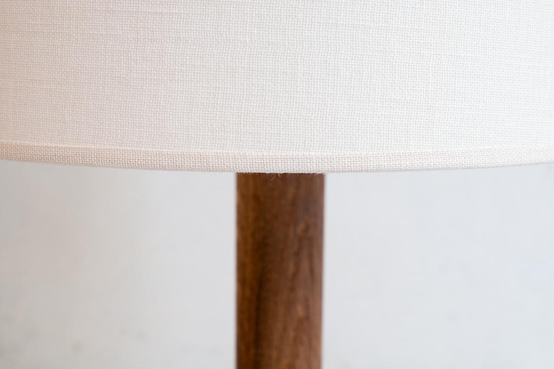 OAK TABLE LAMP Type 61 OF TEMDE