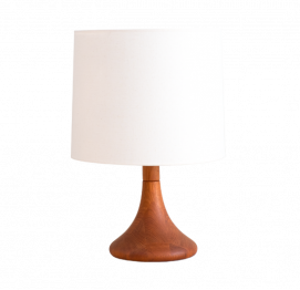 danish TABLE LAMP of DYRLUND
