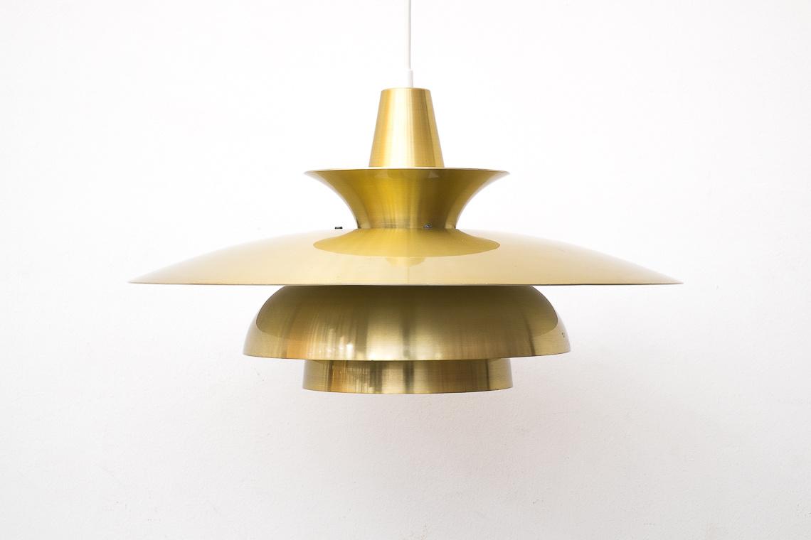 GOLD pendant lamp Roma of Junge Aps. Denmark