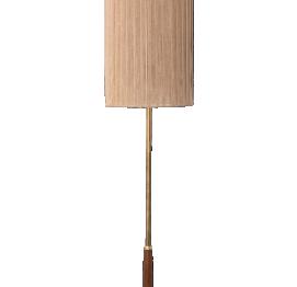 Brass & sisal Floor Lamp from Temde