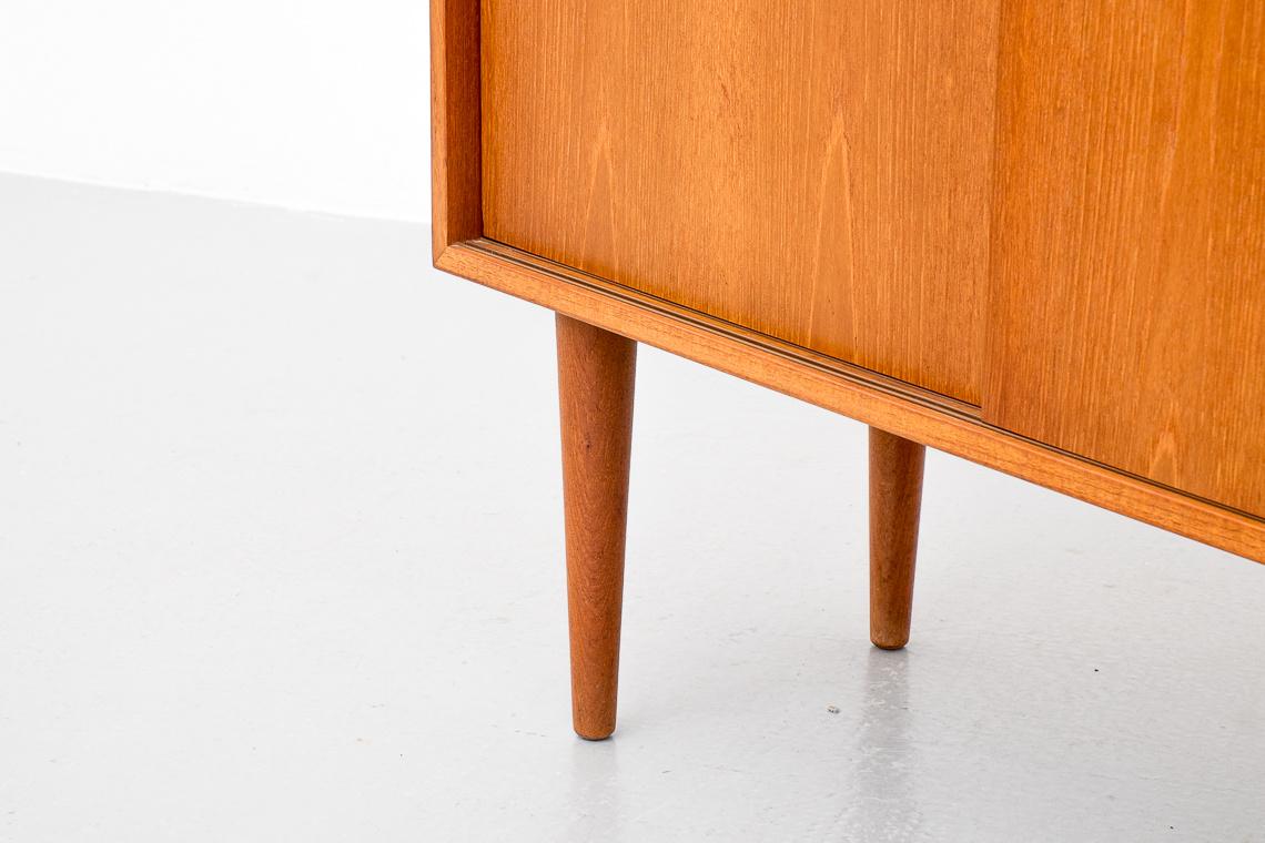Teak Small Sideboard by Kai Kristiansen for Feldballes Møbelfabrik