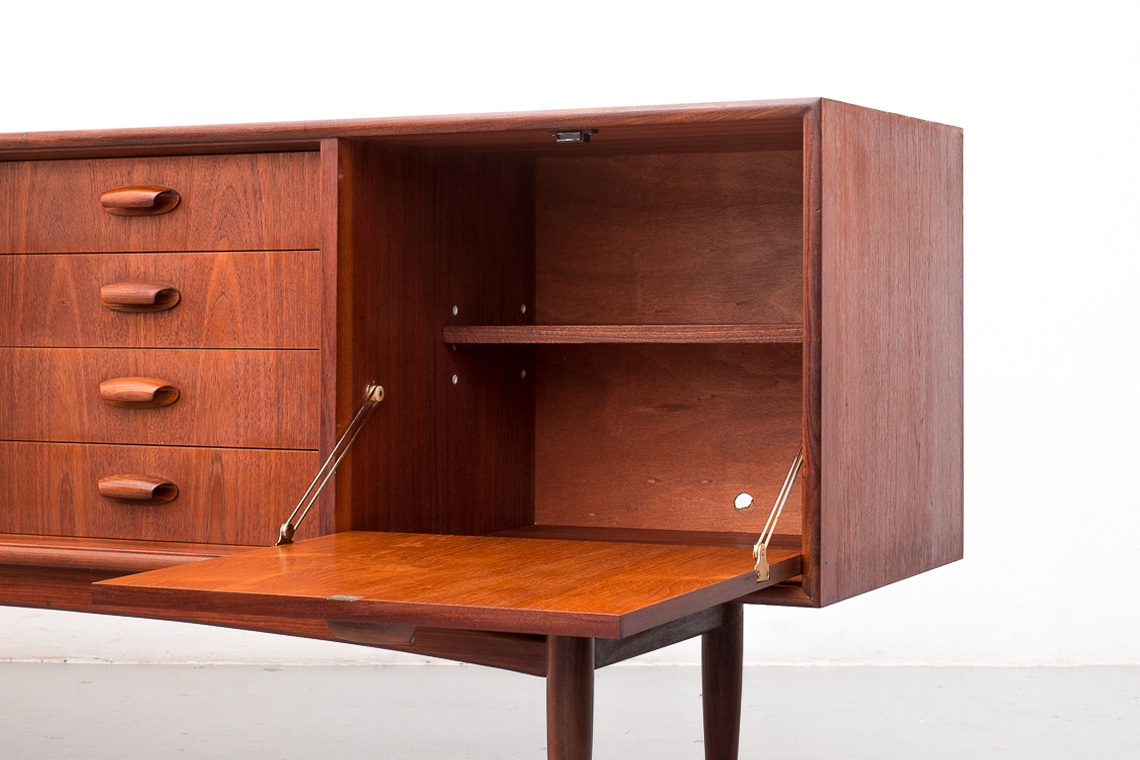 BRASILIA Teak sideboard by V.B. Wilkins for G-plan