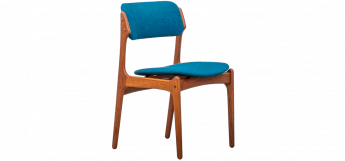 Set of FOUR Dining Chairs Model 49 by Erik Buch
