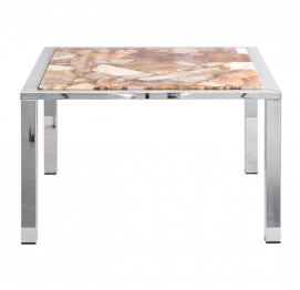 Marble epoxy coffee table from APN W. GERMANY