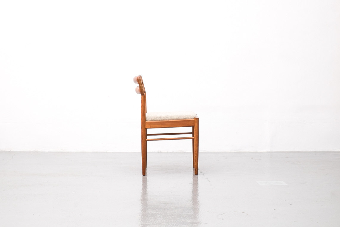 4 Dining Chairs by H.W. Klein for Bramin