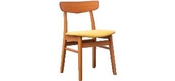 Set of 4 Mosbøl dining chairs by Findahls Møbelfabrik