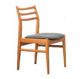Set of 2 Scandinavian Oak Dining Chairs