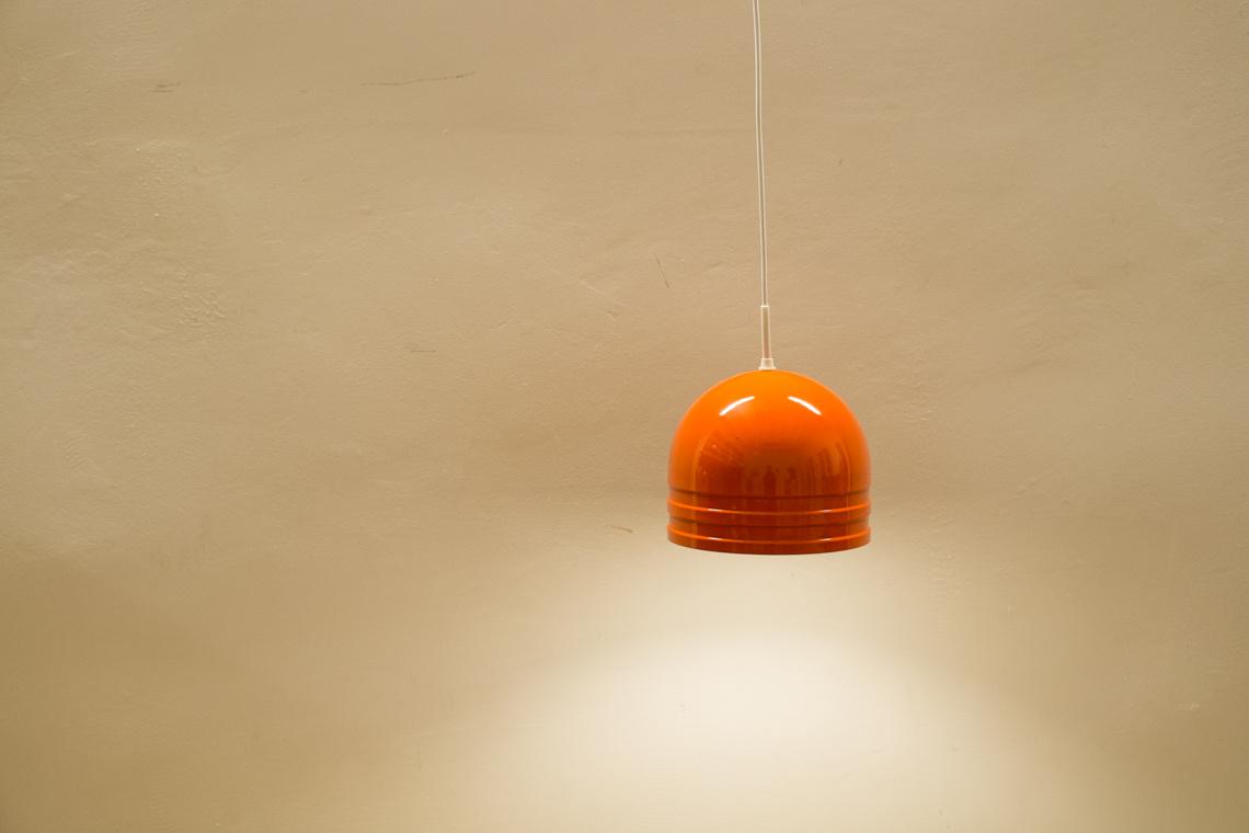 70's orange lamp