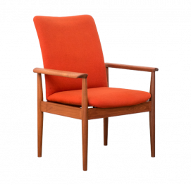 Diplomat Chair by Finn Juhl for France and Son Denmark
