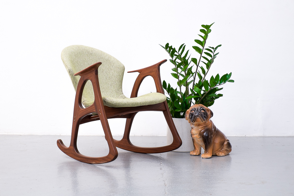 Danish rocking chair by Aage Christiansen for Eran Møbler