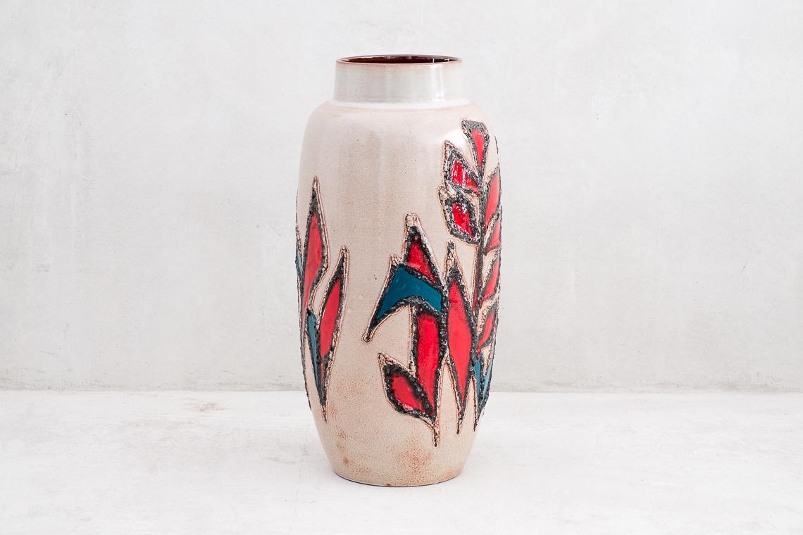 West German Large Vase from Scheurich
