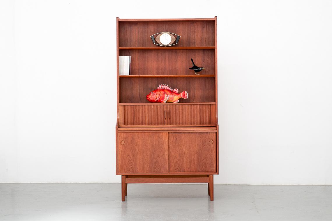 HIGH Secretary / Dresser by Johannes Sorth for Bornholm Mobelfabrik