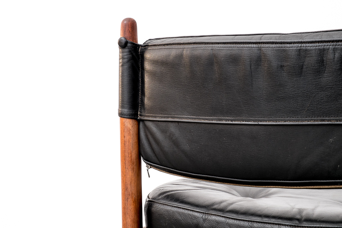 Leather Armchair BY ARNE NORELL FOR COJA