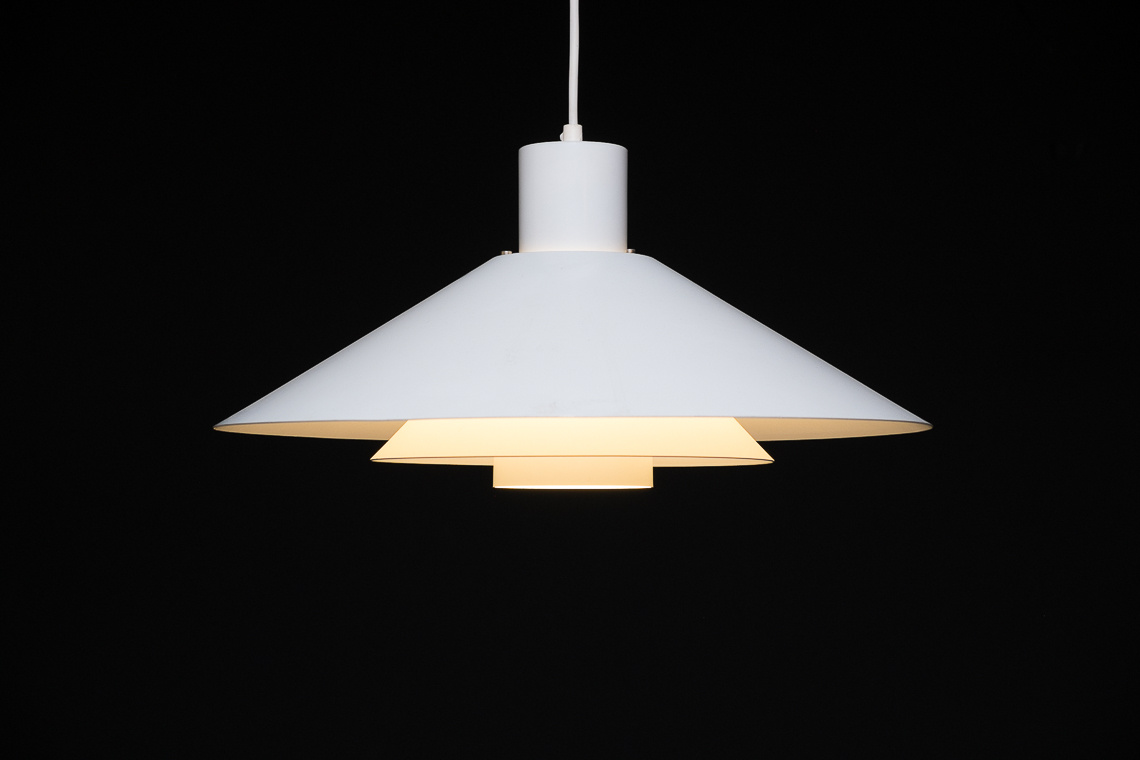 Pendant light model Trapez by Christian Hvidt for Nordisk Solar