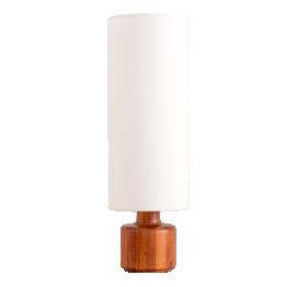 TEAK TABLE LAMP BY BESTFORM