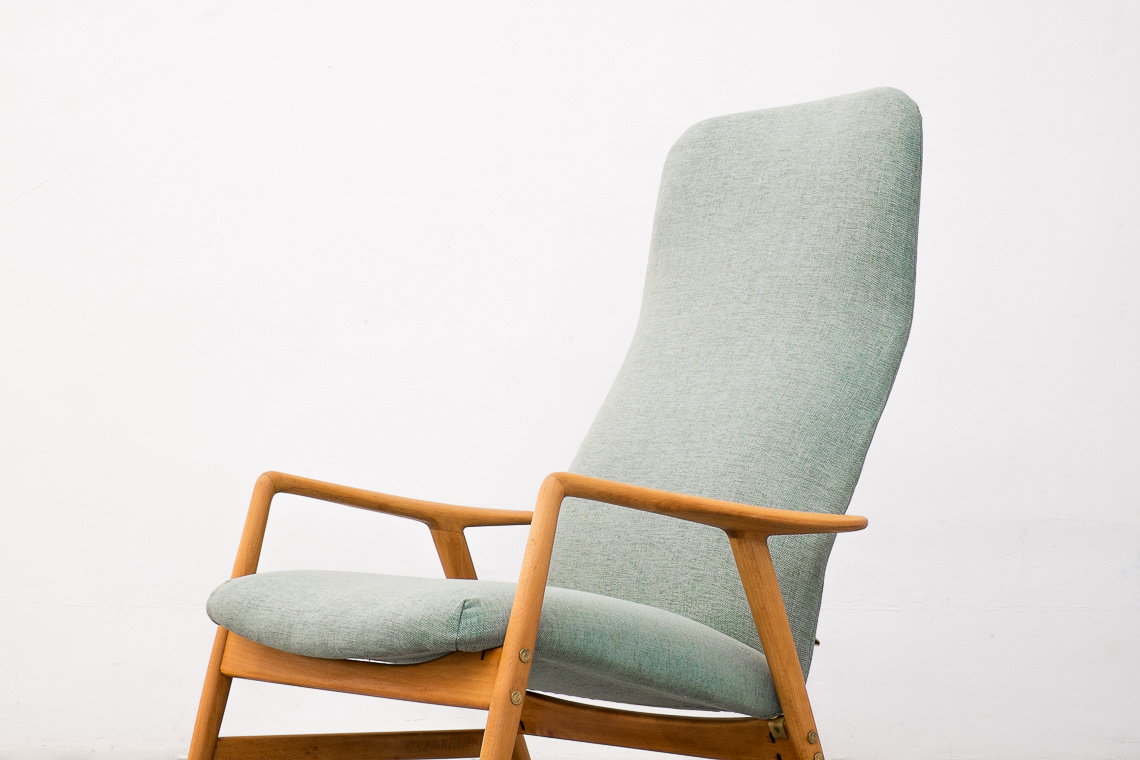 KONTOUR RECLINING LOUNGE CHAIR BY ALF SVENSSON