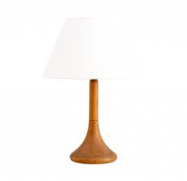 DANISH TEAK TABLE LAMP FROM DYRLUND