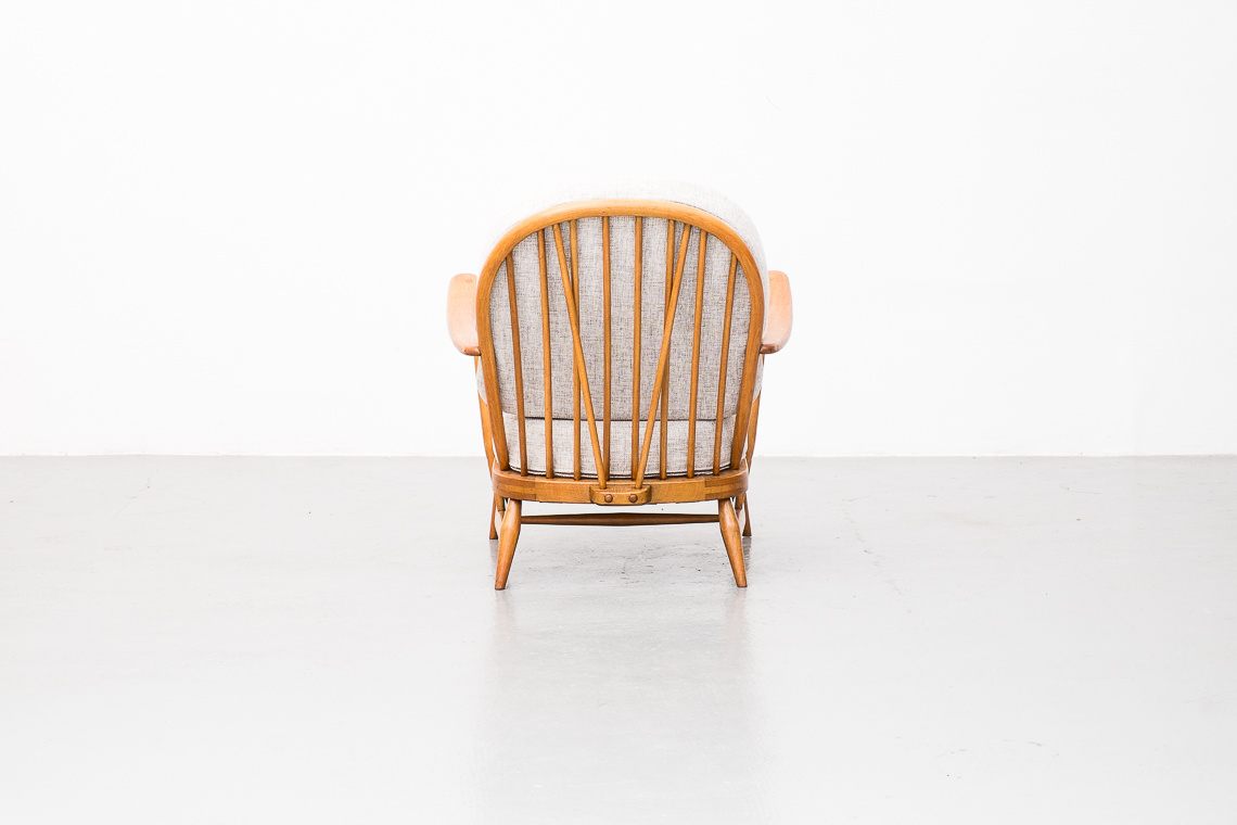 Ercol Windsor Easy Chair and Foot Stool