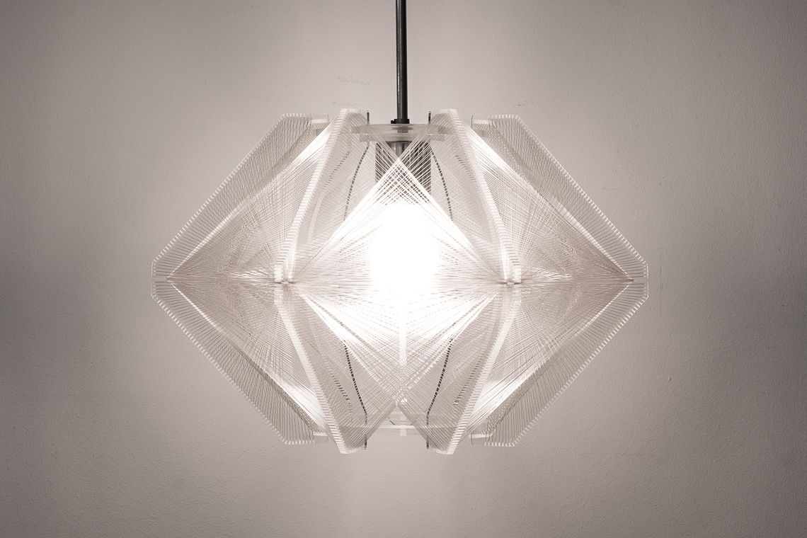 Pendant Lamp by Paul Secon for Sompex