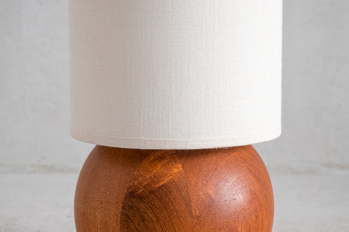 TEAK desk lamp Typ 992  from böckenhauer west germany