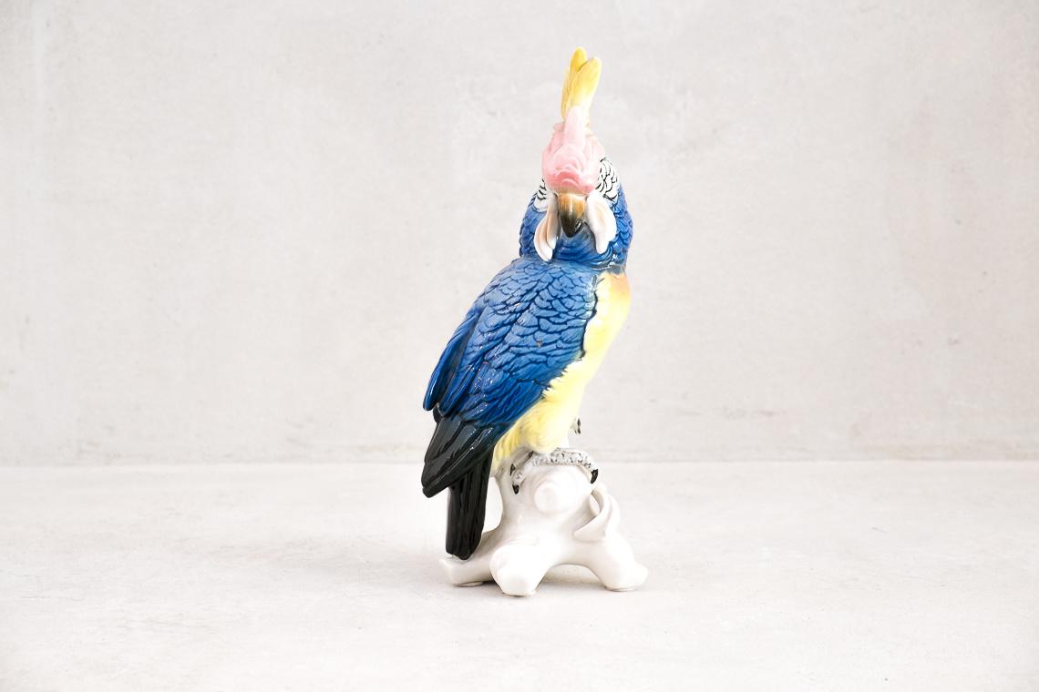 Porcelain Parrot by Karl Ens