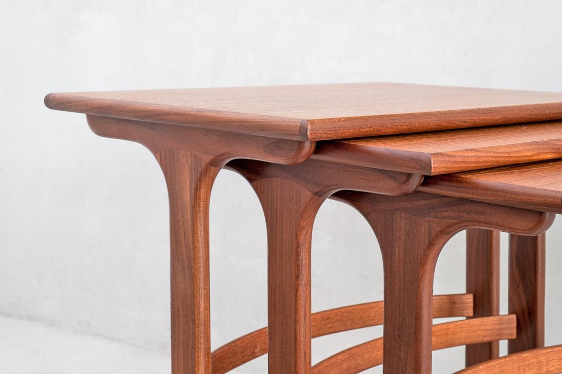 Teak Nest Of Tables GPLAN By E.Gomme ltd.