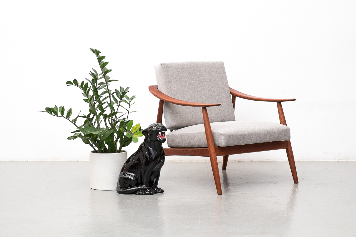 TEAK Lounge Chair by Wilhelm Knoll