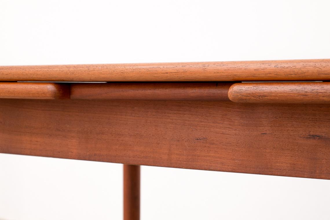 Danish Teak Extendable Dining Table