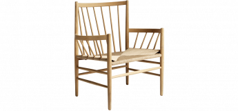 Lounge Chair J82 by Jørgen Bækmark for FDB Møbler