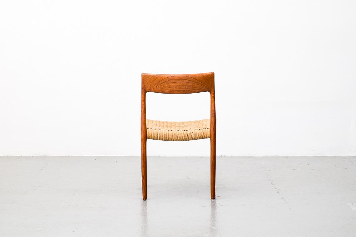 Danish Model 77 Teak Dining Chair by Niels Otto Møller for J.L. Møllers, 1960s