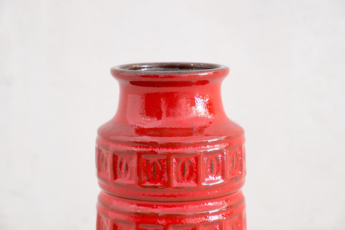 Fat Lava Ceramic ALASKA VASE BY Scheurich