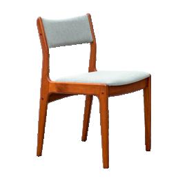 Set of 4 teak chairs by Johannes Andersen for Uldum Møbelfabrik