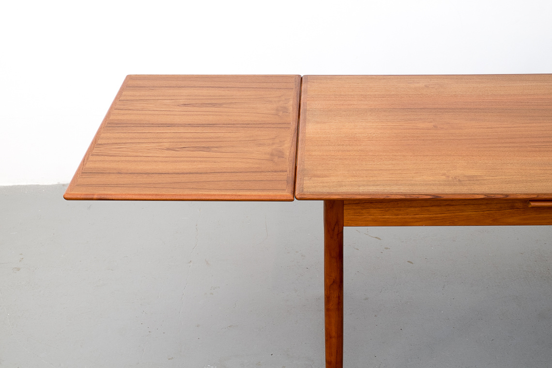 Danish Extending Teak Table from A.M. Denmark