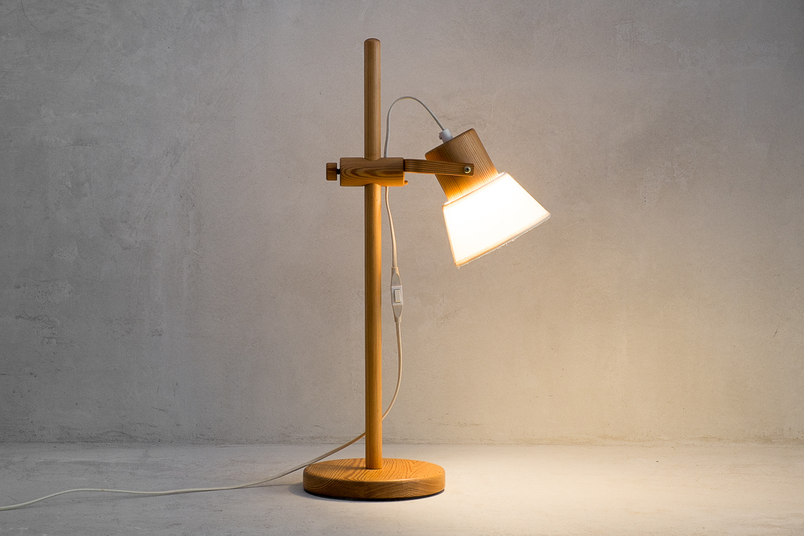 Swedish TABLE LAMP FOR AB Solbacken Svarveri