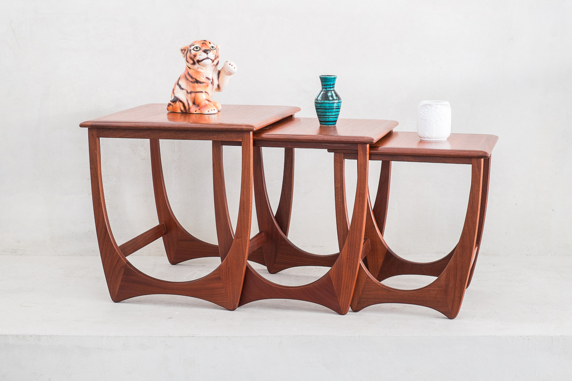 Fresco Nesting Tables by V.B. Wilkins for G-Plan