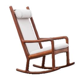 Danish Modern rocking chair by Hans Olsen for Juul Kristensen