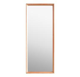 Danish OAK Framed Mirror FROM A.M. Spejle