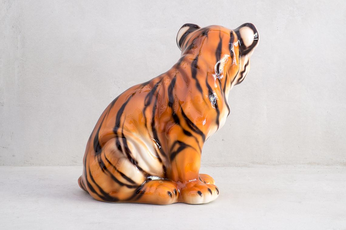Ceramic Baby Tiger