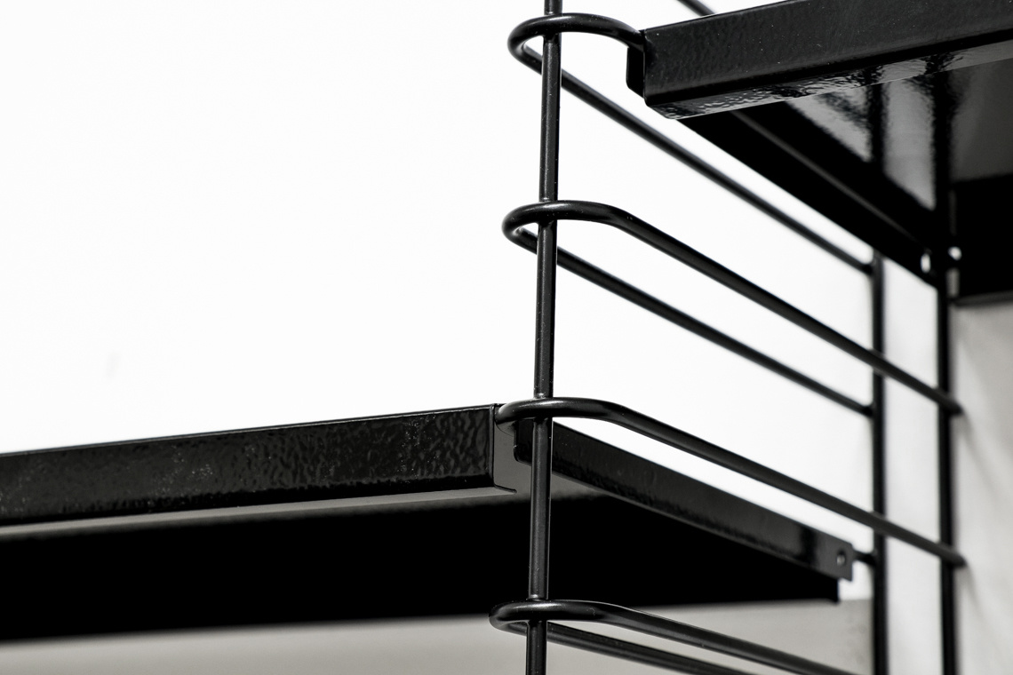 2 PACK Black Shelf by D. Dekker for Tomado
