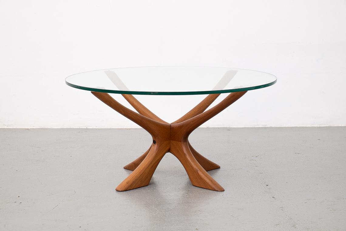 Coffee Table by Illum Wikkelsø for Niels Eilersen, 1960s