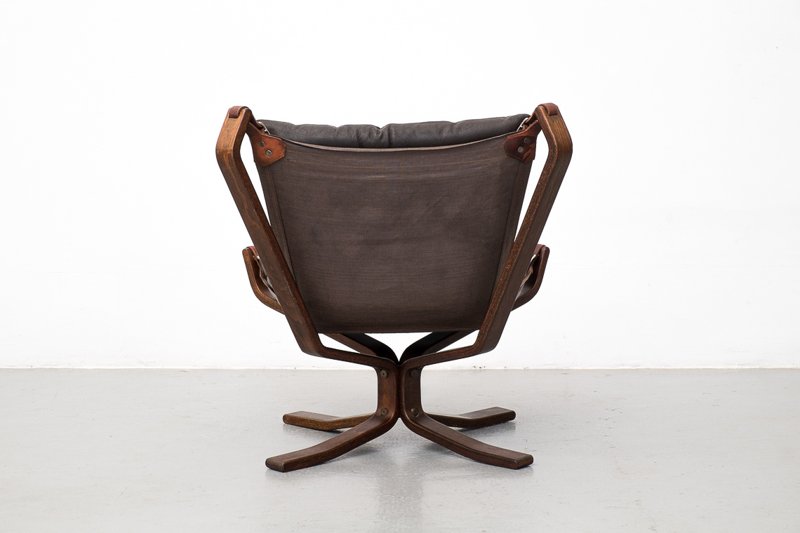 DANISH LEATHER SUPERSTAR lounge chair
