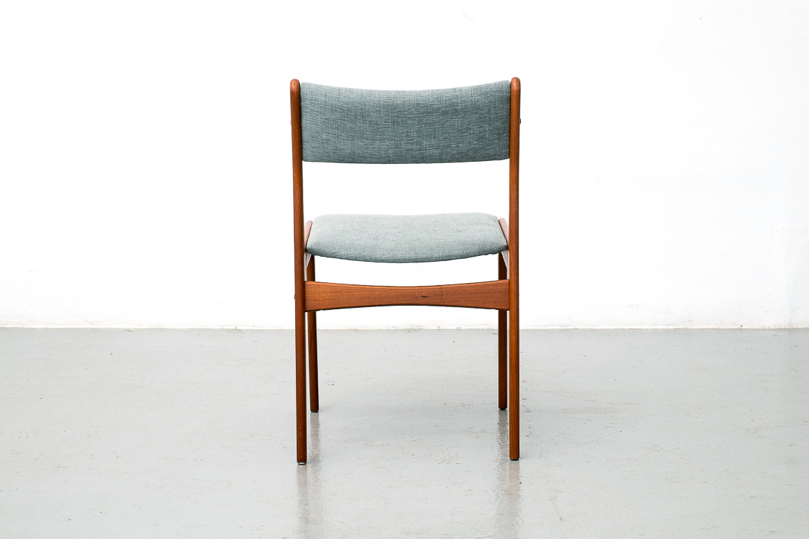 Set of 4 teak chairs by Johannes Andersen for Uldum Møbelfabrik