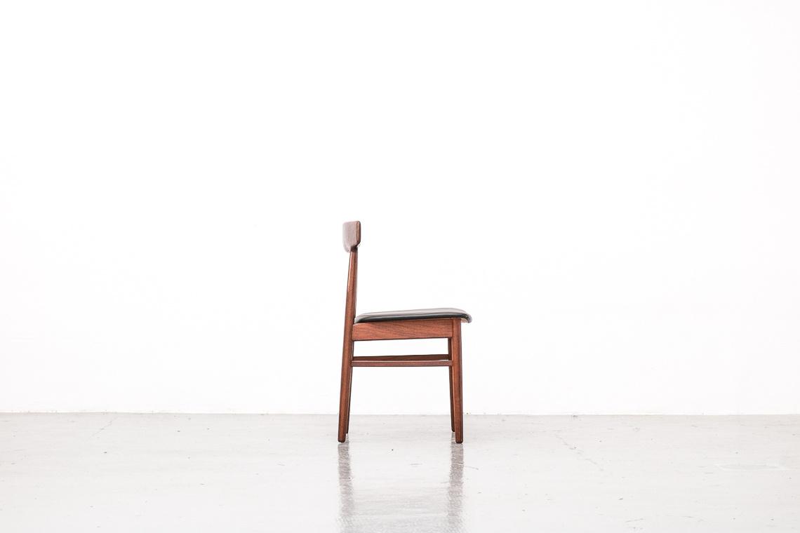 Mid-Century Danish Teak Dining Chairs from Dyrlund
