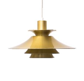 Gold Pendant Lamp FROM FRANDSEN MADE IN DENMARK