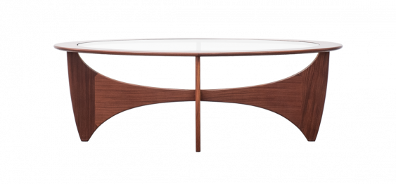 Oval Astro Coffee Table by Victor Wilkins for G-Plan, 1960s