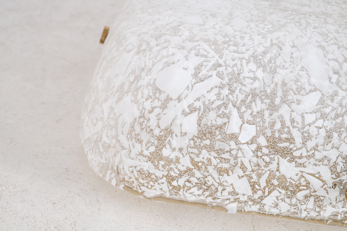 Ice Glass Ceiling Lamp from Kalmar