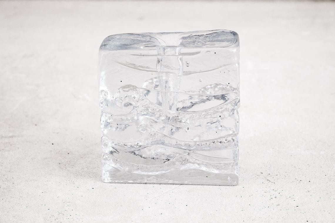 Glass Bud Vase by Ingrid Glas of Germany