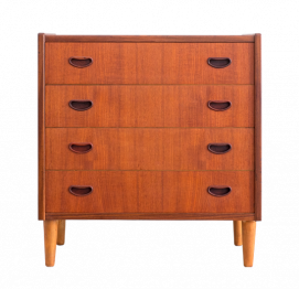 Chest of 4 Drawers for P. Westergaard Mobelfabrik
