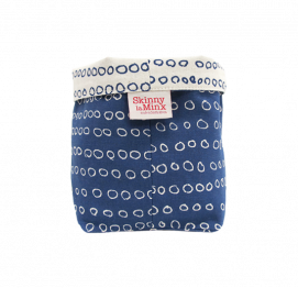 SOFT BUCKET SKINNY LAMINX INKY BLUE